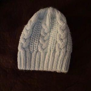 NWOT light turquoise girls winter knitted hat